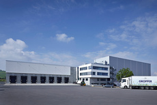 Molkerei Gropper, Logistikzentrum